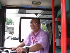 Former SMRT driver, Hu Xiuwen